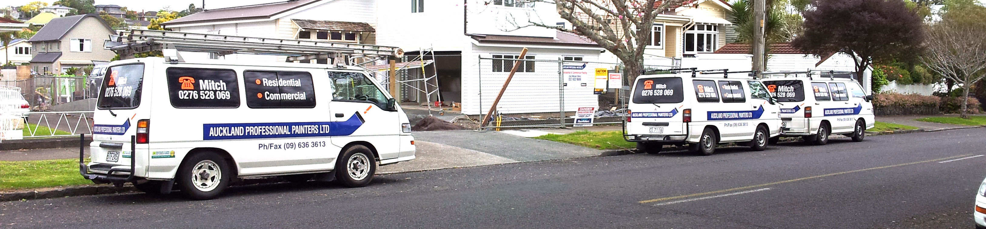 Local Auckland painters renown for their high quality