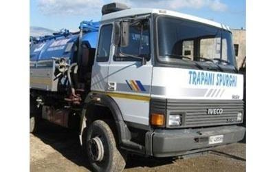 mezzo trasporto rifiuti liquidi trapani