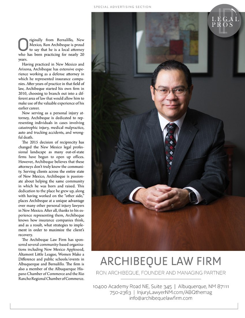 Archibeque Law Firm - Personal Injury Lawyer Albuquerque, NM