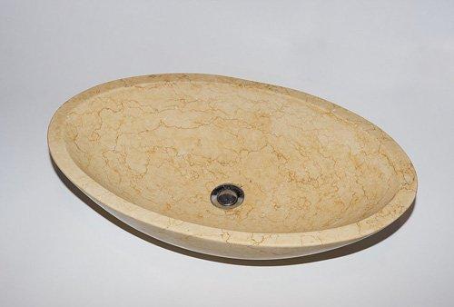 lavello ovale in granito