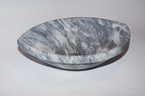 lavello in granito grigio