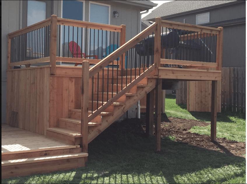 Backyard Fences & Decks