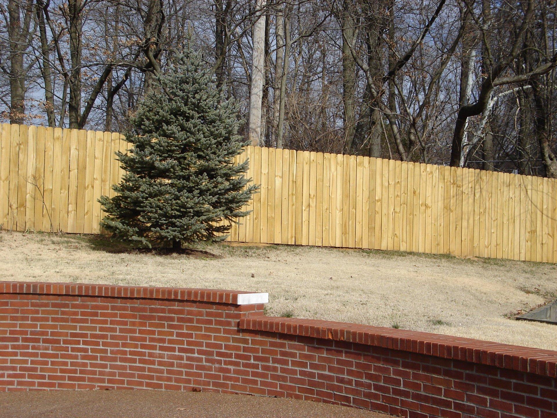 Backyard Fences Amp Decks