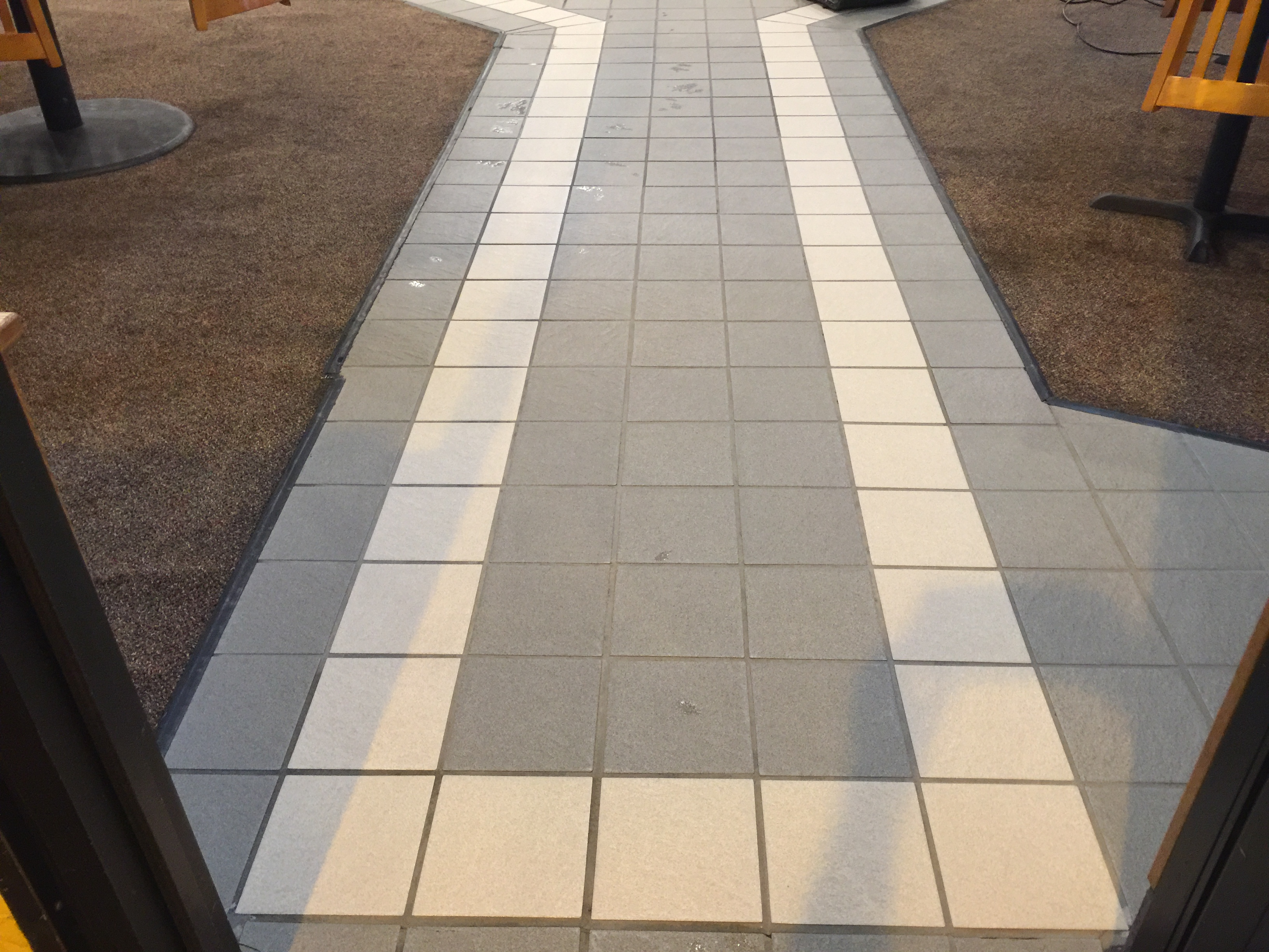 Commercial Grout Cleaning After | Pristine Flooring Restoration`