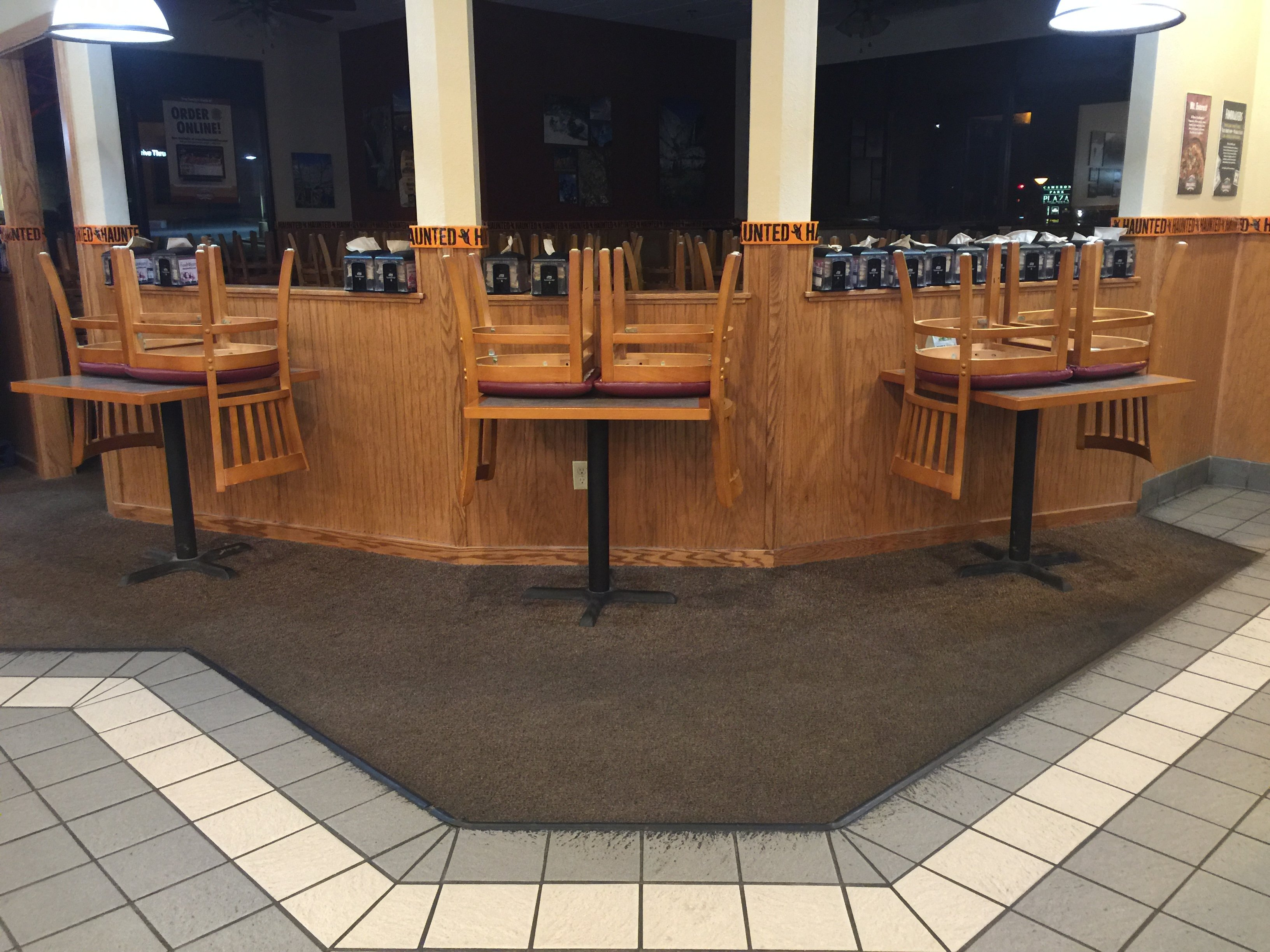 Commercial Carpet Cleaning Before | Pristine Flooring Restoration