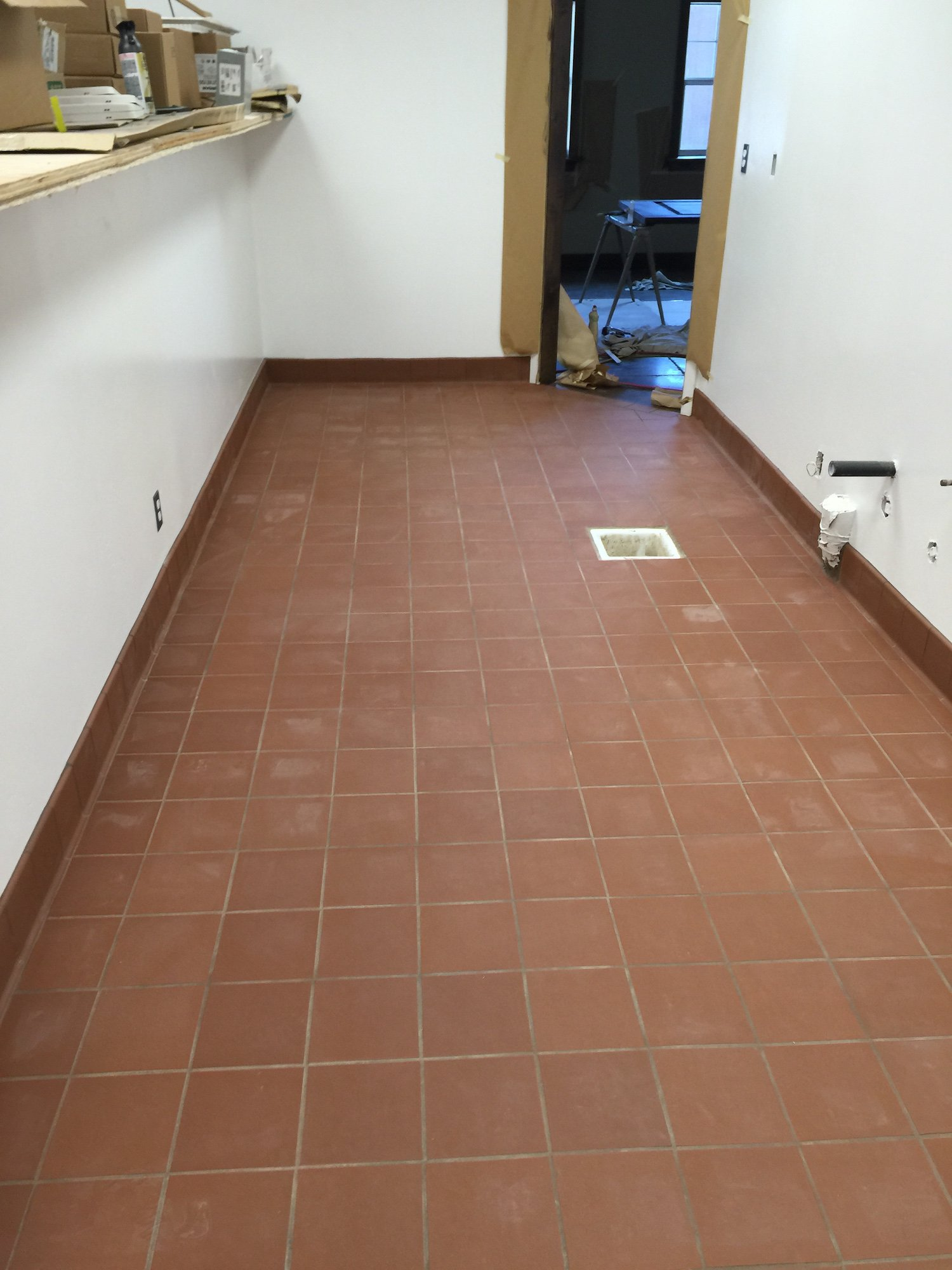 Tile Floor Cleaning Sacramento Before