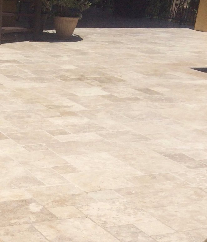 Sacramento Travertine Cleaning After
