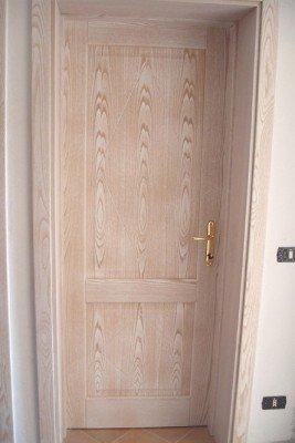 Porta di sicurezza di legno