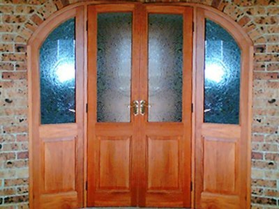 Wadsworth Curved top french doors