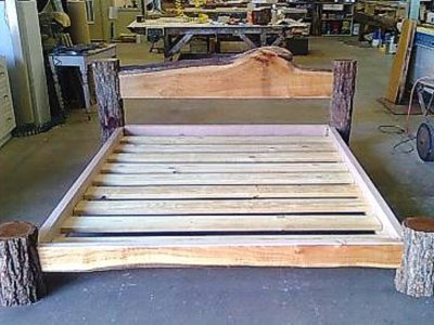 Wadsworth Custom rustic style king size