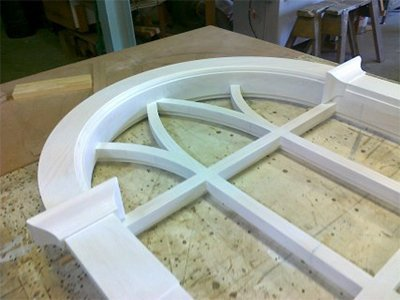 Wadsworth Custom arched window joinery
