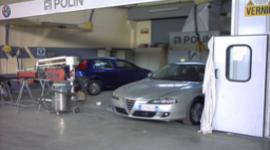reparto controllo lucidatura della carrozzeria Toscana