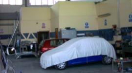 rimessaggio auto a fine lavorazione, in attesa del proprietario