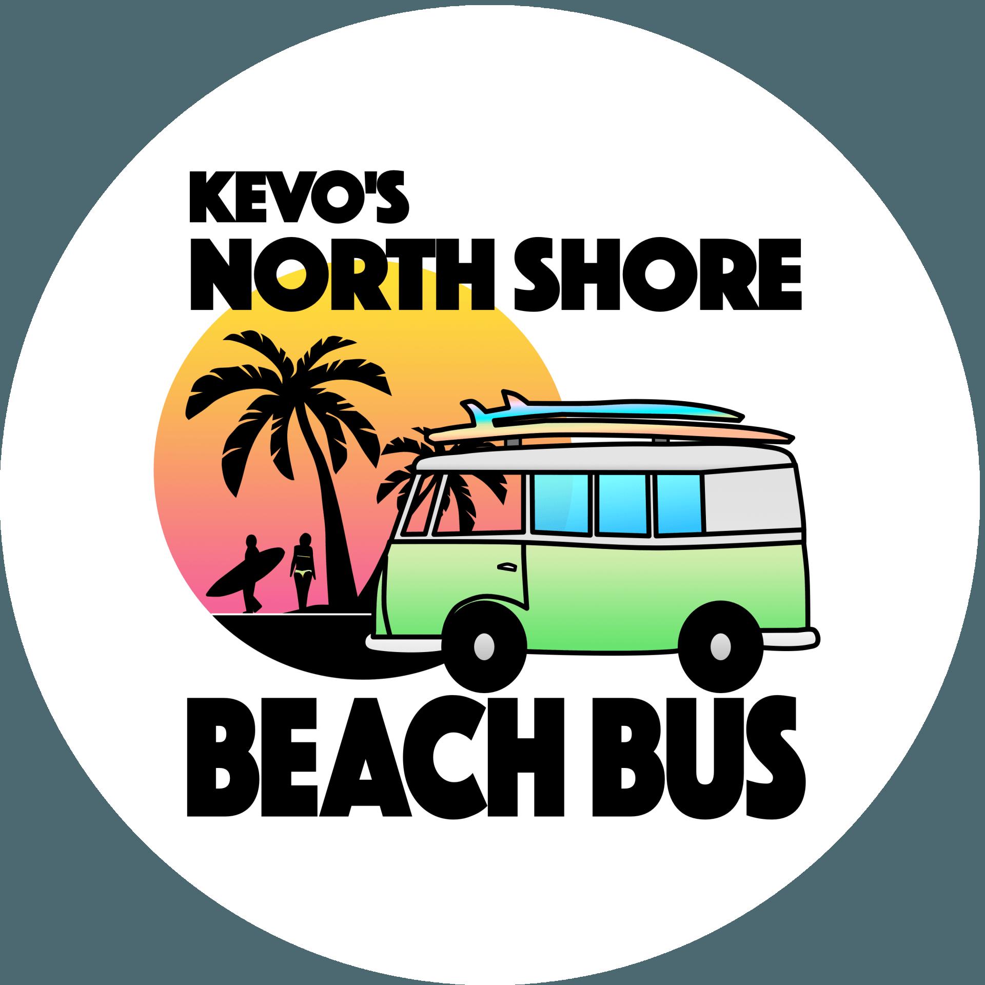 1 North Shore Tour on Oahu, Hawaii | Kevo's Beach Bus