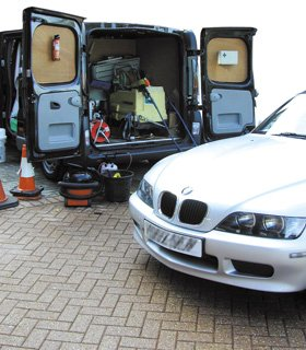 Mobile Repairs - Burntwood, Staffordshire - Freddy's Fast Fit  - Mobile-Car-Repair