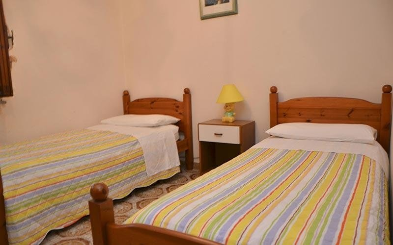 stanza doppia albergo