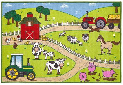 Farm Yard Kids Rug