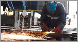 carpenteria per la lavorazione dei metalli