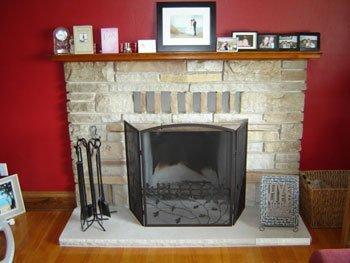 fireplace installation, Bellfire Fireplace