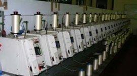 bobinatura di filati in nylon