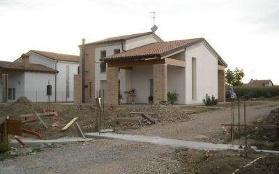 Lavori di costruzione villa