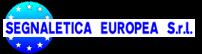 Segnaletica europea Santo stefano di Magra
