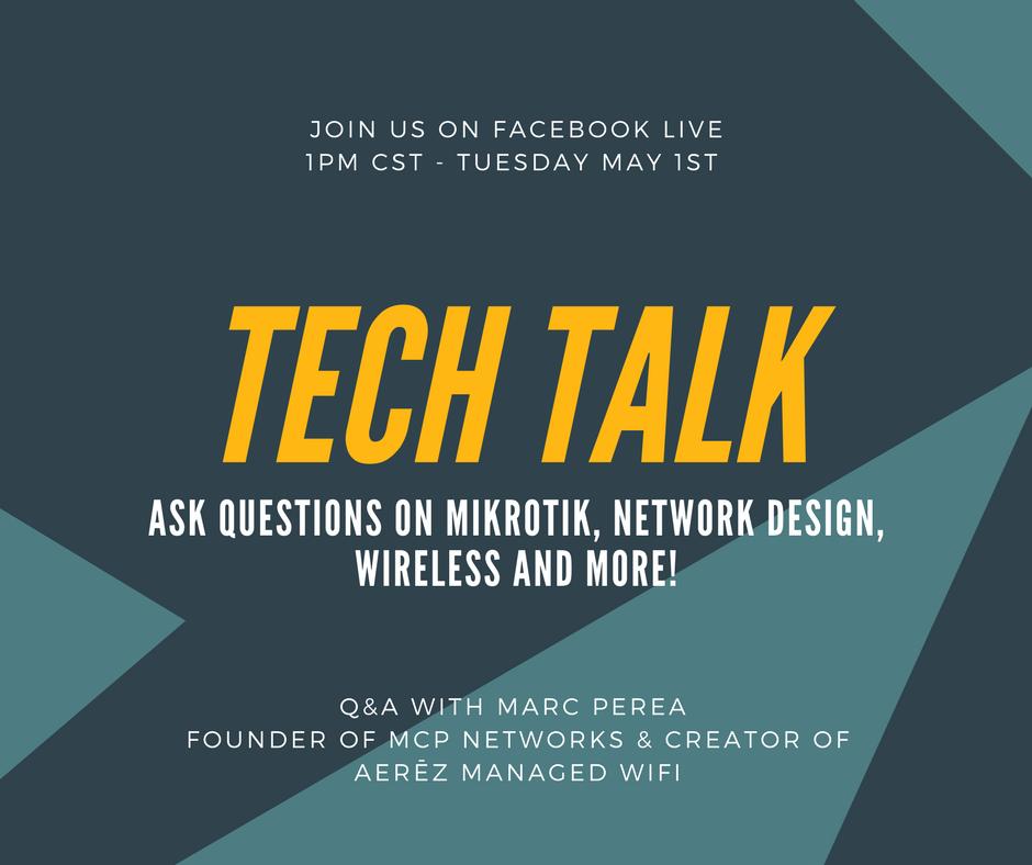 Tech Talk with Marc Perea