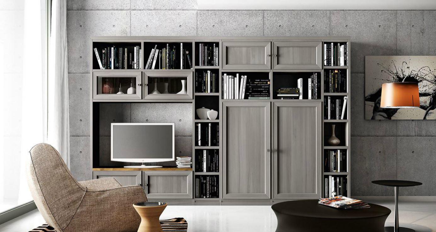 Pareti attrezzate salotti palermo tecnoarredi showroom arredamenti e progettazione d - Mobili soggiorno contemporanei ...