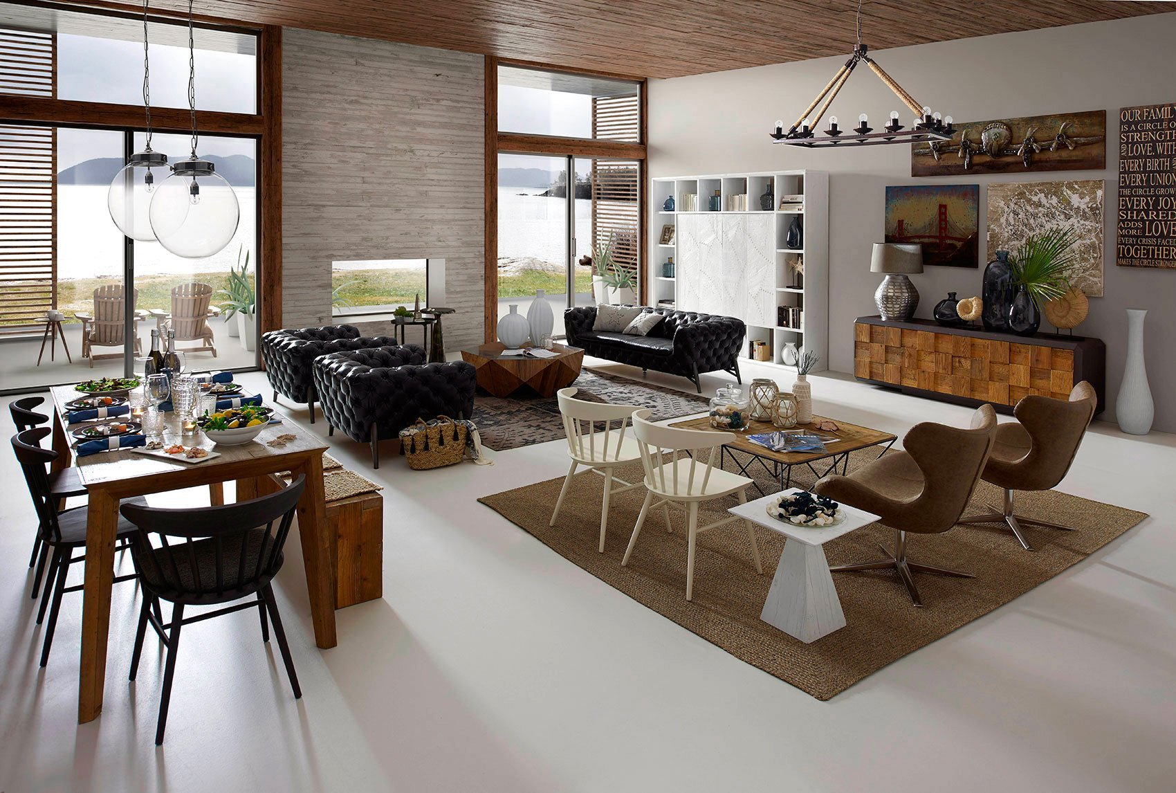 soggiorno stile moderno