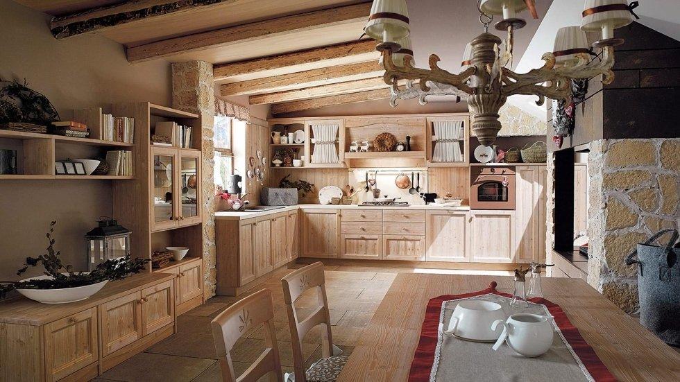Cucine per case di montagna sx54 pineglen for Casadi arredamenti