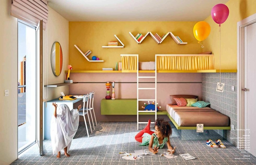 Camerette per bambini