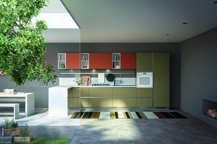 Cucina moderna Essebi