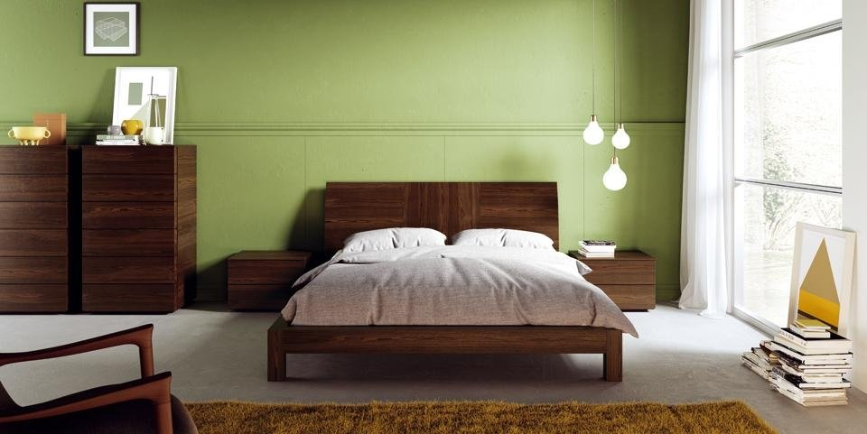 Camere da letto moderno