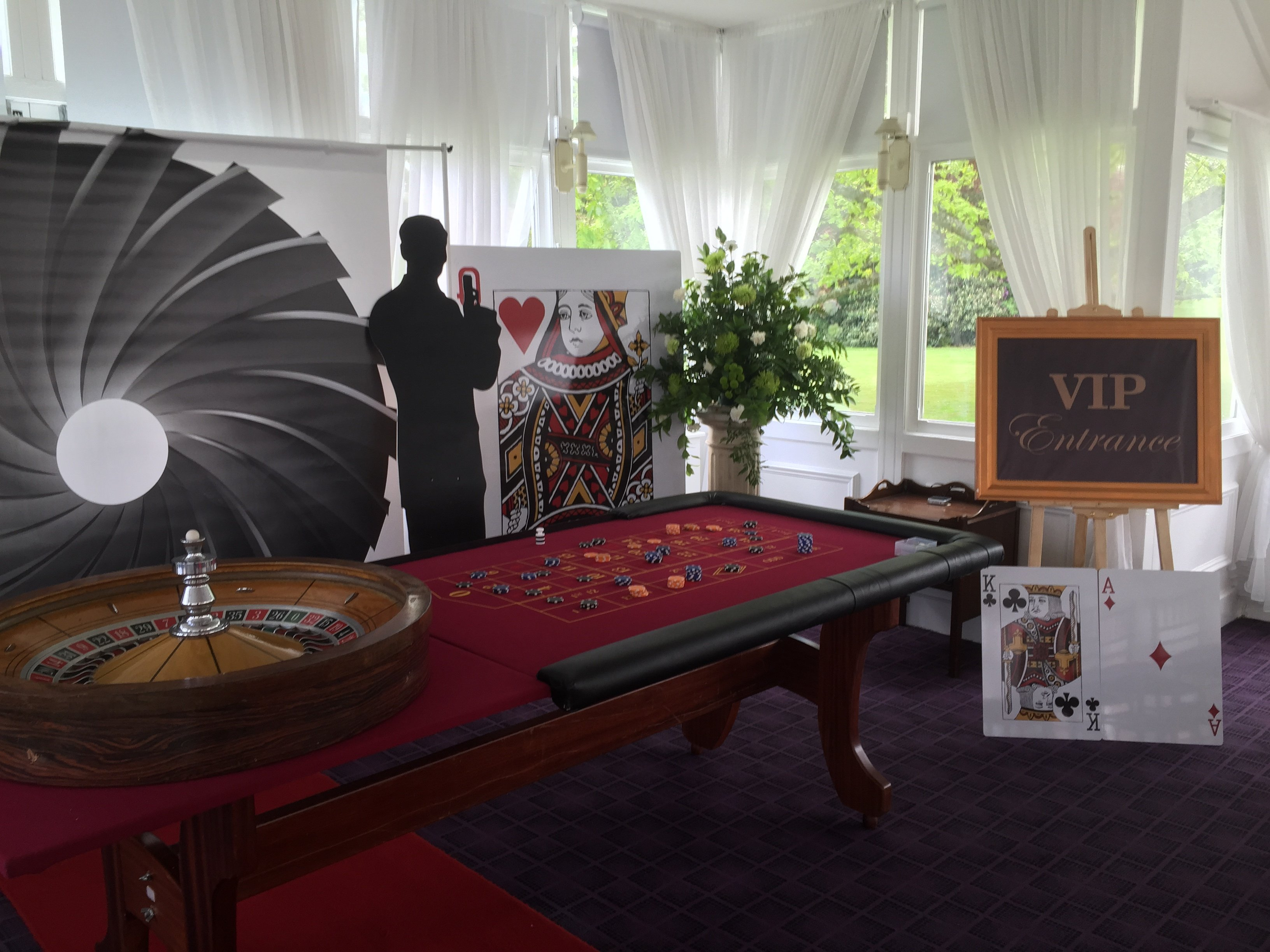 Casino table hire kent
