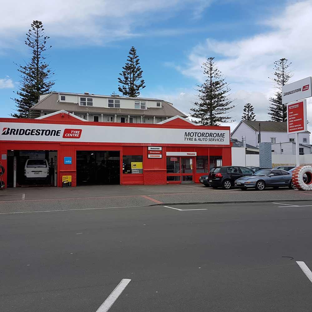 motordrome tyre and auto services napier shop