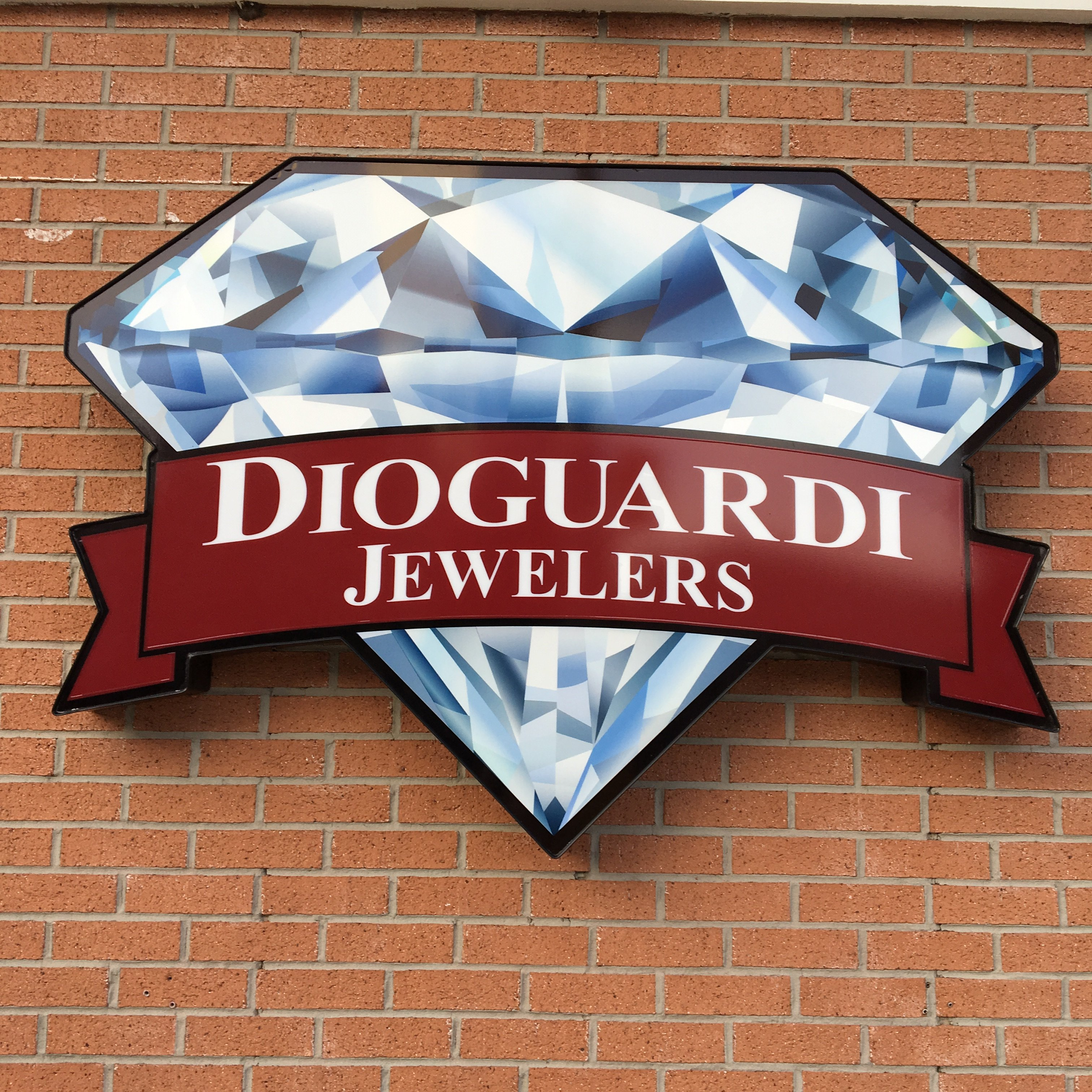 Dioguardi Jewelers Store Sign