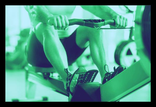 Membership Header image of person using rowing machine