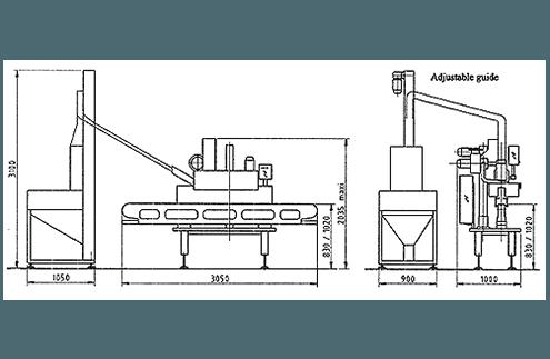 caspulatrice automatica dettaglio