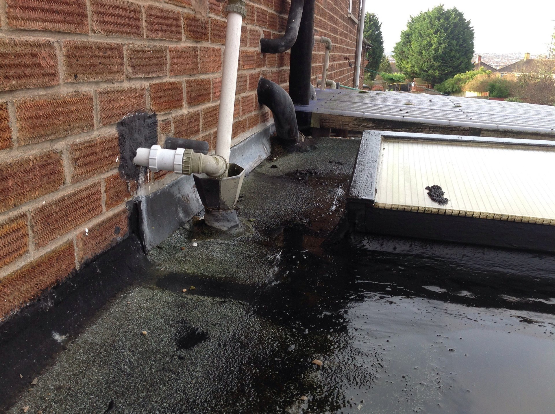 Flat Roof Replacement By Grp Flat Roof Specialists In Cardiff