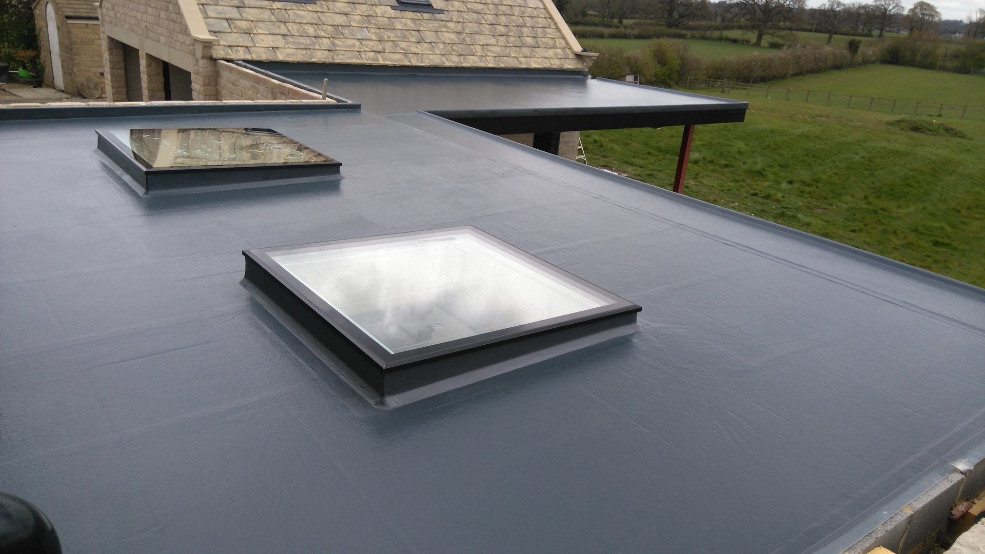 Fibreglass Flat Roofing In Swansea From Grp Fibreglass Roofing