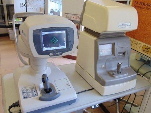 Tonometro a Soffio per la misurazione della pressione oculare