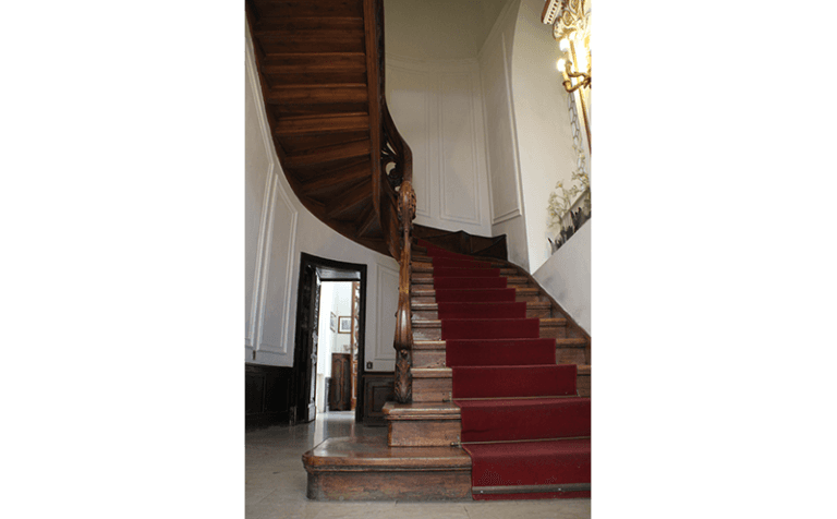 interno villa Germana