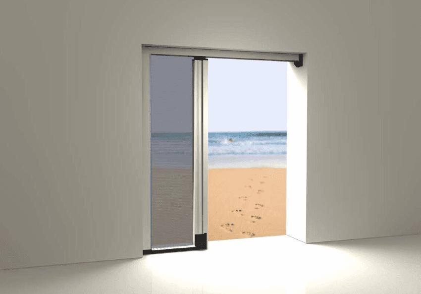 zanzariera porta finestra scorrevole genova