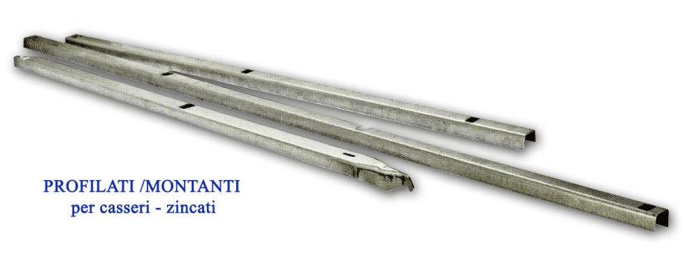 Profilati-Montanti per casseri-zincati