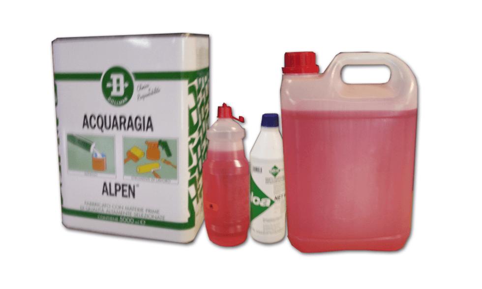 Disinfettante per pavimenti  e per WC chimico