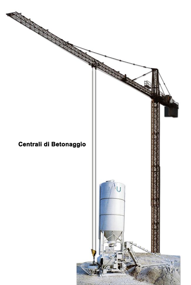 centrali betonaggio