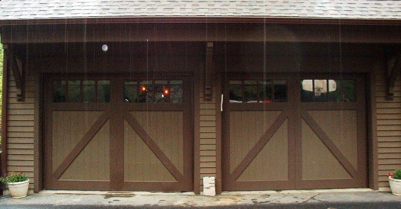 Custom residential garage door gallery garage door store for 18 x 8 garage door screen