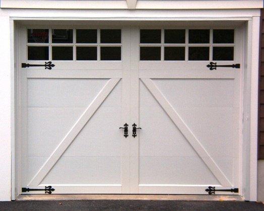 Elegant Coachman Steel Garage Door