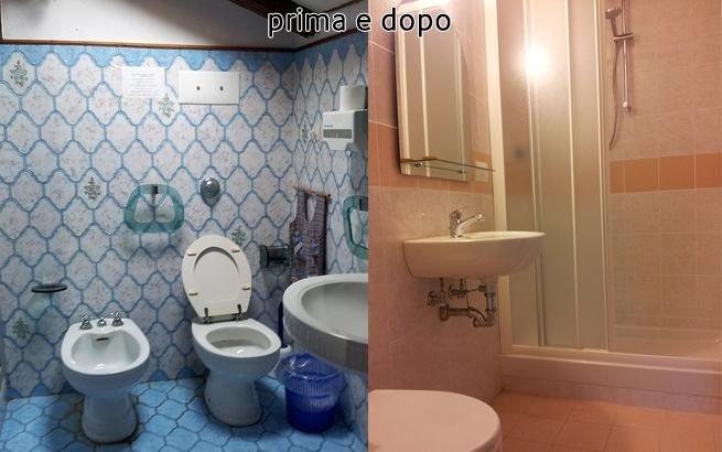 prima e dopo la ristrutturazione