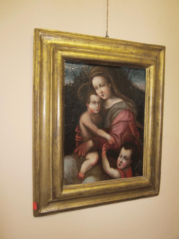 quadro restaurato